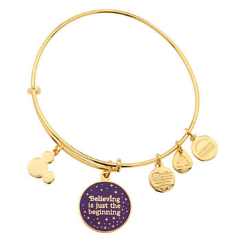 Tinker Bell ''Believing is just the beginning'' Bangle by Alex and Ani