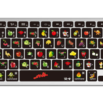 "1 Piece MacBook Pro 13"""" Keyboard Sticker Decal Keyboard Skin Style B"