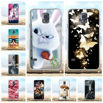 For Samsung Galaxy S5 S6 S7 S9 PLUS Case Soft Silicon TPU 3D Cat Cute Back Cover For Samsung S5 S6 S7 S9 S9 PLUS s9+ Phone Cases