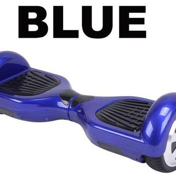 DCCKGQ8 new 2017 ul2272 certified hoverboard smart self balancing electric scooter blue