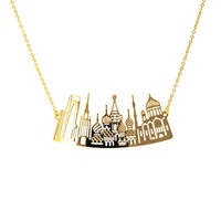 Moscow skyline necklace | Tita' Bijoux