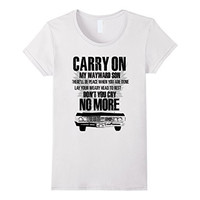 CARRY ONE SUPERNATURAL TSHIRT GIFT