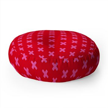 Caroline Okun Rougex Floor Pillow Round