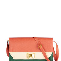 ModCloth Colorblocking Flawless Finale Bag