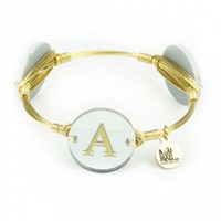Moon and Lola xx Bourbon and Boweties Dalton Initial Bangle