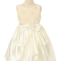 Rose Mary- Flower Girl Dress in Ivory