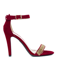 Viva Glam Sandal - Red Sparkle