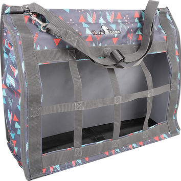 Designer Top Load Hay Bag in Grey Arrow