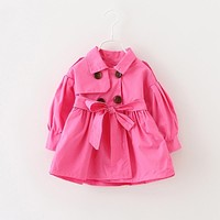 Autumn Bow Coat