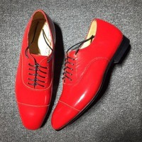 DCCK2 Cl Christian Louboutin Loafer Style #2327 Sneakers Fashion Shoes