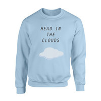 Ariana Grande Head in the Clouds Crewneck