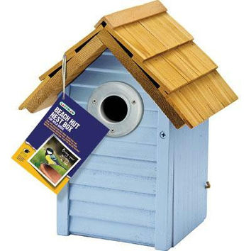 Country Cottage Nest Box  Blue