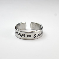 Anam Cara Soul Friend Ring, Celtic Spiritual Friendship Ring, Irish Term Ring, Bestseller Book Anam Cara Inspired Jewelry