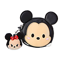 Mickey Mouse ''Tsum Tsum'' Coin Purse with Minnie Plush Charm