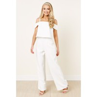 Suit Yourself White Jumpsuit