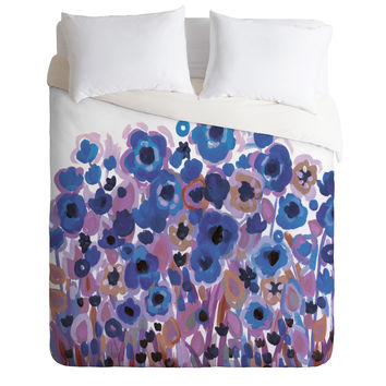 Natasha Wescoat Glowing Perussian Duvet Cover