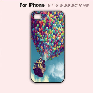 Disney, Pixar, UP,Phone Case For iPhone 6 Plus For iPhone 6 For iPhone 5/5S For iPhone 4/4S For iPhone 5C-5 Colors Available