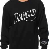 Diamond Supply Co. Old Script Crew Neck Sweatshirt