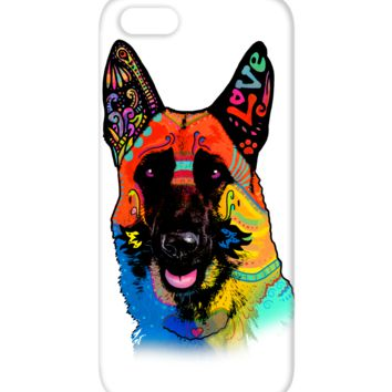 German Shepherd Love iPhone 5C Case gsloveip5c