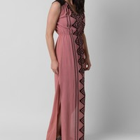 coco & jameson Southwestern Maxi Dress