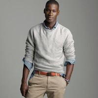 Men's tees, polos & fleece - fleece - Vintage marled fleece crewneck sweatshirt - J.Crew