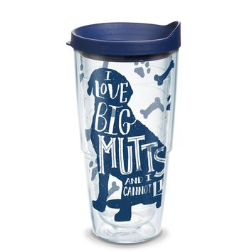 Tervis Project Paws Big Mutts with navy lid, 24 oz. tumbler