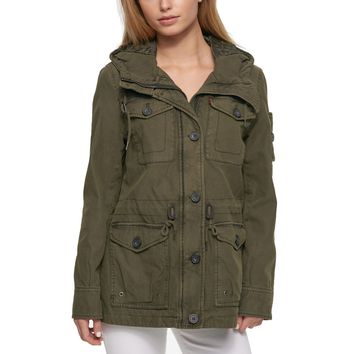 Women's Levi's® Hooded Anorak Military Jacket