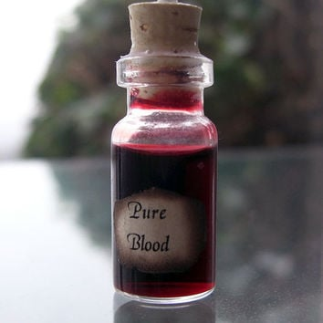 Wizard Pure Blood Harry Potter Potion Vial by PortalAndPortkey