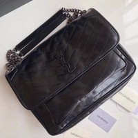 NEW UNUSED Yves Saint Laurent NIKI bag; Rtl $2350!