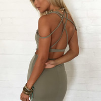 Amara Set - Khaki | SABO SKIRT
