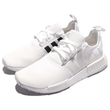 adidas Originals NMD_R1 Boost White Men Running Shoes Sneakers Trainers CQ2411