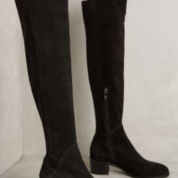 Via Spiga Alto Boots in Black Size: