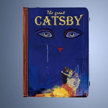 The Great Catsby, Great Gatsby, Kindle Fire HD 7 Inch Folio Cover Case