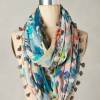 Augusta Infinity Scarf by Anthropologie in Blue Size: One Size Scarves
