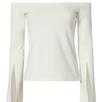 Alexis Slit Sleeve Off Shoulder Top - INTERMIX®