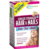Longer Stronger Hair & Nails 60 Ct
