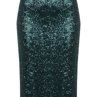 All Over Sequin Skirt - View All  - New In