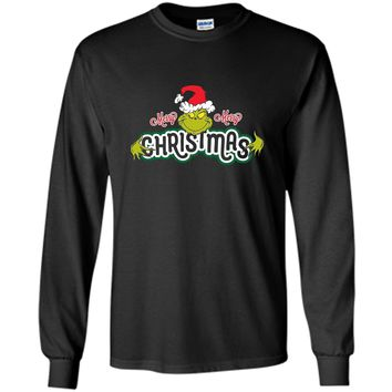 Dr. Seuss Grinch Hugs Christmas T-shirt