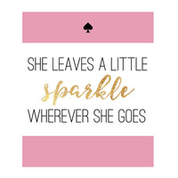 Kate Spade Inspired Sparkle Print Instant Download