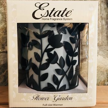 Flower Garden Full Size Electric Wax Warmer by Estate
