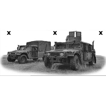 Armored vehicles - Airbrush stencils