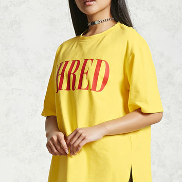 Oversized Shred Graphic Tee
