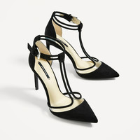 VINYL BLACK COURT SHOE - View all-SHOES-WOMAN | ZARA United States