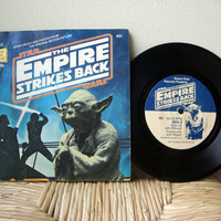 1980 Star Wars The Empire Strikes Back Read Along by VintageWoods