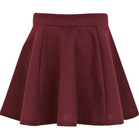 Girls purple skater skirt