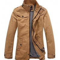 The Woods Khaki - leatherandcotton