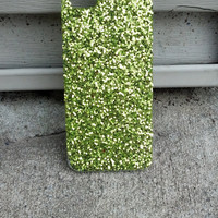 Green Goblin Glitter iPhone 5 case