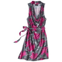 Mossimo® Women's Printed Knit Cowl Tank Dress - Assorted Colors