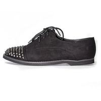 Studded Suede Shoe