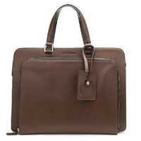 Durable10-13 Inch Portable Cow Leather Men's Laptop Bag - Briefcase - Bags - Men's Trinity Place Department Store